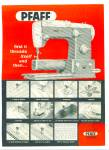 Pfaff sewing machines ad 1962
