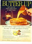 Click here to enlarge image and see more about item Z4475: Butter up - American Dairy Association ad