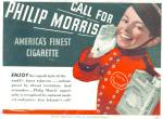 Call for Philip Morris Cigarette AD JOHNNY