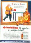 Golden Wedding  Straight whiskey ad