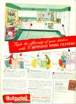 Click here to enlarge image and see more about item Z4525: Hotpoint electric kitchens ad - 1946