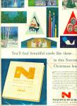 Norcross greeting cards ad 1957 CHRISTMAS