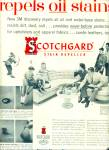 Scotchgard stain repeller ad 1957