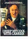 Carrier heating - VIC TAYBACK  ad 1981