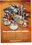 Click here to enlarge image and see more about item Z5132: Wilton RWP Armetale ad 1977