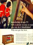 Zenith handcrafted color TV ad 1967