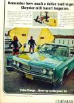 Chrysler Corporation - Chrysler for 1967 ad