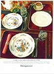Wedgwood tableware ad 1984