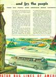 Motor bus lines of America ad 1945