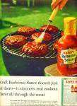 Click here to enlarge image and see more about item Z5298: Kraft Barbecue sauce ad 1964