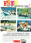 Click here to enlarge image and see more about item Z5445: Evinrude boat motors ad 1962