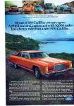 Lincoln Continental  1976 ad