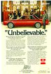 Dodge Aspen ad for 1976  REX HARRISON