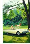 Click here to enlarge image and see more about item Z5504: Ford Thunderbird - 61