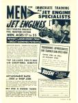 Click here to enlarge image and see more about item Z5522: Northwest schools - Jet Engine division ad