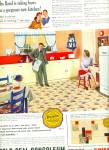 1941 Gold seal congoleum Tile AD RETRO LOOK