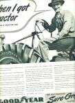 Click here to enlarge image and see more about item Z5540a: Goodyear sure grip tractor tire ad 1941