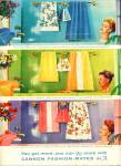 1961 Cannon Towel AD WOMEN in BATHTUBS Cute