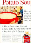 Campbell's frozen Cream of Potato soup ad