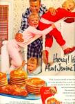 Click here to enlarge image and see more about item Z5780: Aunt Jemima pancake mix ad  1961