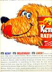 1963 Ken L Ration (liver flavor) ART DOG AD