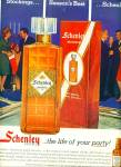 1963 Schenley RESERVE Whiskey AD LIFE PARTY