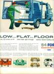 Click here to enlarge image and see more about item Z5902: Ford Econoline Van for 1964 ad