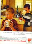 Campbell's Tomato soup ad 1963