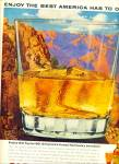 1963 Old Taylor  Kentucky AD Grand Canyon ART