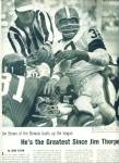 Click here to enlarge image and see more about item Z6011: Football Star - JIM BROWN  of the Cleveland