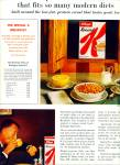Click here to enlarge image and see more about item Z6021: Kellogg's Special K cereal ad 1963