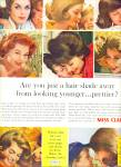 1963 Miss Clairol AD EIGHT Beautiful MODELS