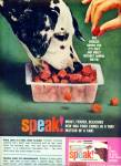 Click here to enlarge image and see more about item Z6063: Speak dog food ad 1963