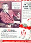 Click here to enlarge image and see more about item Z6128: L & M. Filter cigarettes - DAVID WAYNE  - ad