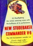 Studebaker Commander V-8 ad 1951