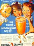 Click here to enlarge image and see more about item Z6168: Florida oranges ad