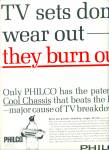 Click here to enlarge image and see more about item Z6182: Philco TV ad 1963