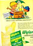 Wyler's lemonade mix - imitation flavored ad