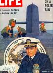 Click here to enlarge image and see more about item Z6226-1166414500: Deep down patrol on a Polaris sub story 1963