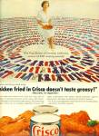 Click here to enlarge image and see more about item Z6308: Crisco shortening ad 1964