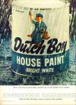 Click here to enlarge image and see more about item Z6321: Dutch Boy house paint ad 1964