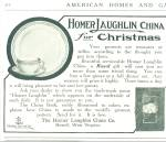 1912 Homer Laughlin China Dinnerware Promo AD