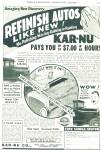 Kar-Nu Co.. = refinish autos like new ad 1934