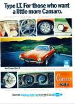 Click here to enlarge image and see more about item Z6488:  Chevrolet Camaro 350 ad 1973