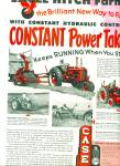 Case farming equipment ad 1952