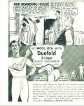 Click here to enlarge image and see more about item Z6563: 1952 Duofold Men's BEEFY underwear ad