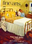 Click here to enlarge image and see more about item Z6612: 1974Stevens AD Joan Walsh Anglund GIRL-DAD PJ