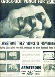 Armstrong tubeless tires - rhino flex ad 1955