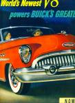 Click here to enlarge image and see more about item Z6643: Buick automobile ad 1953