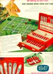 Click here to enlarge image and see more about item Z6681: 1847 Rogers Bros. silverplate ad 1952